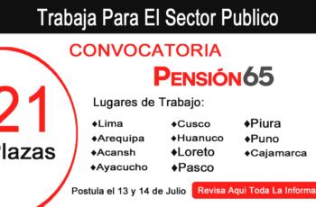 convocatoria cas pension65