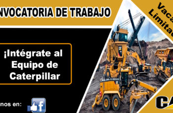 oportunidad laboral CATERPILLAR