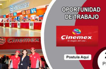 Ofertas de empleo CINEMEX
