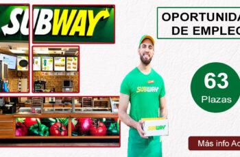 Empléate en SUBWAY